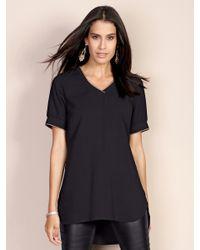 Laura Kent Black Longshirt