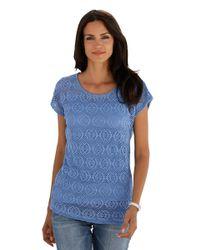 Amy Vermont Shirt in het Blue