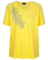 m. collection Shirt in het Yellow