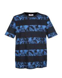 Boston Park T-shirt in het Blue voor heren