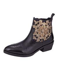 Liva Loop Chelsea Boot in het Black