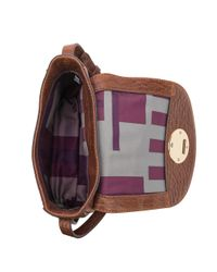 Kooba Claude Small Saddle Bag in Multicolor | Lyst