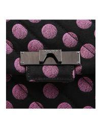 Kurt Geiger - Pink Fabric Mayfair X Bag - Lyst
