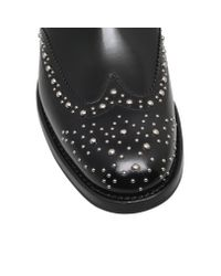 Church's Black Ketsby Stud-embellished Leather Ankle Boots