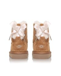 UGG - Brown Dixi Flora Perf Junior - Lyst