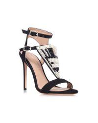 Kurt Geiger Kiya Black High Heel Occasion Shoes