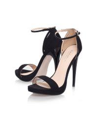 Carvela Kurt Geiger Black Jessie High Heel Sandals