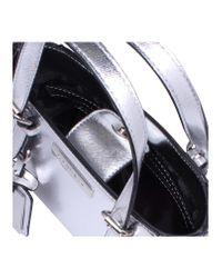 Carvela Kurt Geiger Metallic Micro Din2 Bag