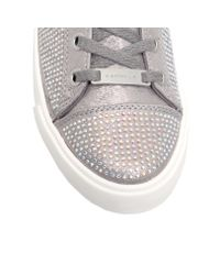 Carvela Kurt Geiger - Gray Lock Trainers - Lyst