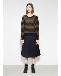 MHL by Margaret Howell Black Striped Thermal