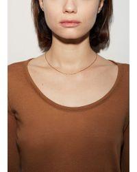 Satomi Kawakita - Metallic Chain Link Necklace - Lyst
