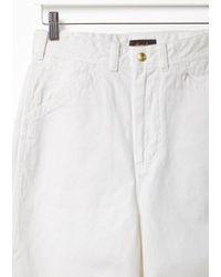 Chimala - White Selvedge Painter Pants - Lyst