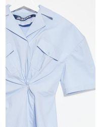 Jacquemus Blue L'uniforme