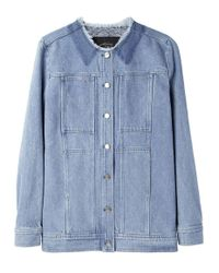 Rachel Comey Blue Palm Jacket