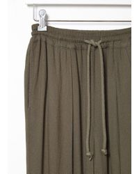 Black Crane Brown Slim Pant