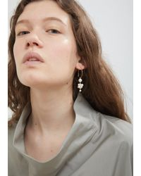 Sophie Bille Brahe Metallic Botticelli Hoop Earring