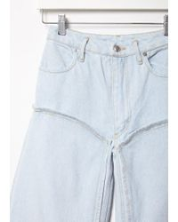 Eckhaus Latta Blue Panel Jean