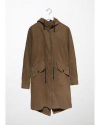 MHL by Margaret Howell Natural Fishtail Parka