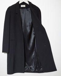 Lemaire Black Suit Coat
