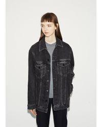 Alexander Wang - Gray Daze Denim Jacket - Lyst