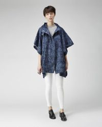 Girl by Band of Outsiders - Blue Denim Poncho - Lyst