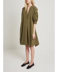 Jil Sander Natural Eulogy Dress