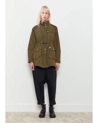 Woolrich - Green Field Eskimo Jacket - Lyst