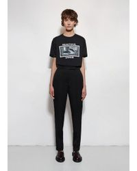 Yang Li Black Reconstructed Classic Trouser for men