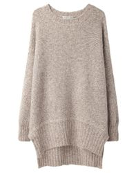 Tsumori Chisato Multicolor Oversized Alpaca Sweater