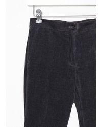 Yang Li Black Flared Trouser