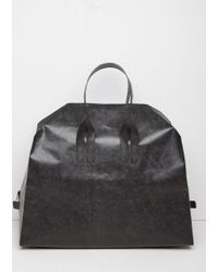 Saskia Diez | Black Papier Travel Bag | Lyst