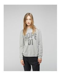 Hope - Gray King Sweatshirt - Lyst