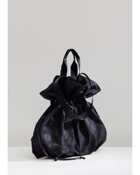 Y's Yohji Yamamoto Blue Reversible Garment Treated Knapsack