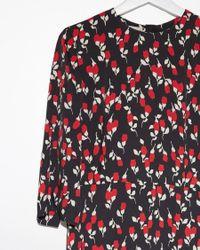 Marni - Black Printed Floral Dress - Lyst