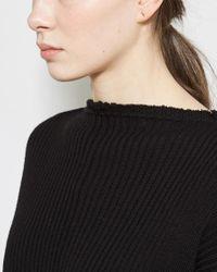 Kathleen Whitaker - Metallic Rose Staple Earring - Lyst
