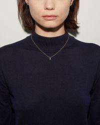 Satomi Kawakita - Metallic Diamond Pearl Necklace - Lyst