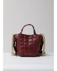 Acne Multicolor Musubi Mini Quilted Bag