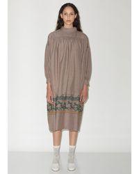 Minä Perhonen Brown Merry-go-round Dress