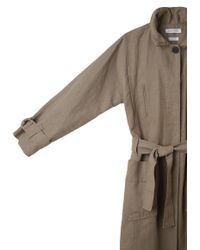Étoile Isabel Marant Natural Oria Long Trench
