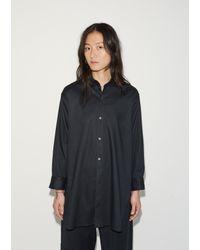 Moderne Black New Drafting Shirt