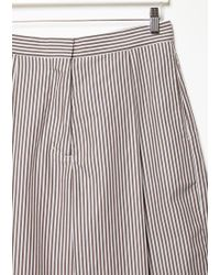Ports 1961 White Stripe Trousers