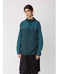 Y-3 Green Adizero Packable Hooded Jacket