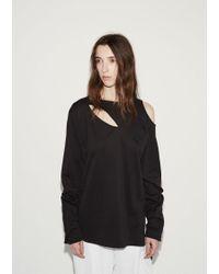Y-3 Black Cocoon Sweatshirt