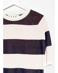 Marni Multicolor Stripe Sweater Tee