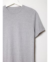 Save Khaki - Gray Classic Heather T-shirt - Lyst