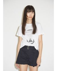 PSWL White Printed Psychic Cotton Tee
