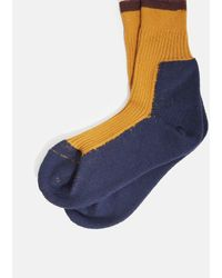 Zucca - Blue Colorblock Socks for Men - Lyst