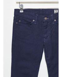Blue Blue Japan Blue Stretch Twill Skinny Jeans