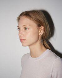 Satomi Kawakita - Multicolor Baby Black Diamond Earring - Lyst
