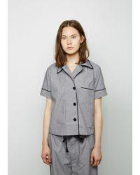 Araks Gray Shelby Pajama Top